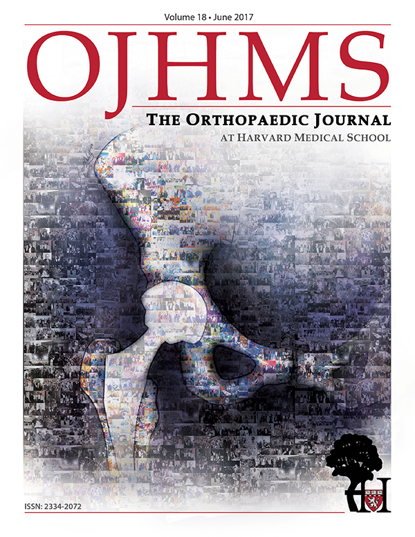 The Orthopaedic Journal at Harvard Medical School Cover, Volume 17, June 2016