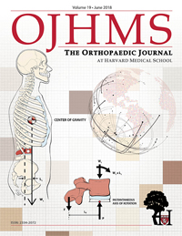 The Orthopaedic Journal at Harvard Medical School Cover, Volume 19, June 2018